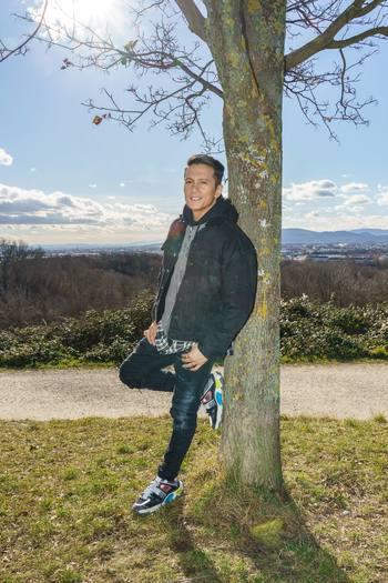 Spaziergang mit Vincent Bueno - Wienerberg, Wien - Do 04.02.2021 - Vincent BUENO27