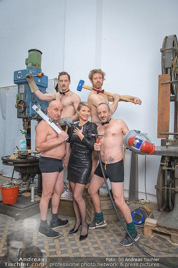 Fotoshooting zu Ladies Night - Kunsthalle Berndorf, NÖ - Di 09.02.2021 - Kristina SPRENGER, Christoph FÄLBL, Thomas HÖFNER, Martin BERM83