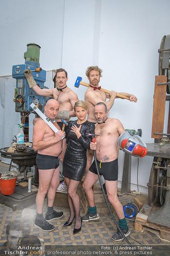 Fotoshooting zu Ladies Night - Kunsthalle Berndorf, NÖ - Di 09.02.2021 - Kristina SPRENGER, Christoph FÄLBL, Thomas HÖFNER, Martin BERM84