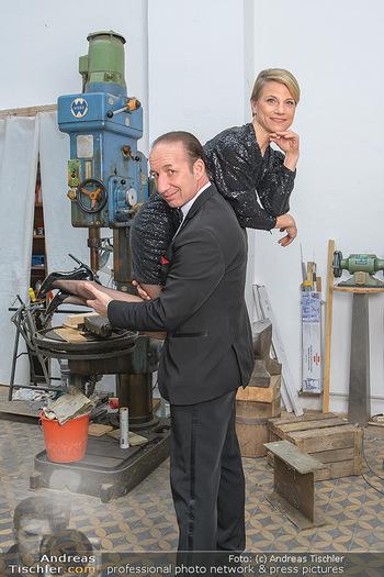 Fotoshooting zu Ladies Night - Kunsthalle Berndorf, NÖ - Di 09.02.2021 - Michael SEIDA, Kristina SPRENGER122
