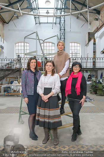 Fotoshooting zu Ladies Night - Kunsthalle Berndorf, NÖ - Di 09.02.2021 - Claudia DESCOVICH, Gerda EHRLICH-RATZINGER, Kristina SPRENGER, H128