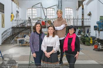 Fotoshooting zu Ladies Night - Kunsthalle Berndorf, NÖ - Di 09.02.2021 - Claudia DESCOVICH, Gerda EHRLICH-RATZINGER, Kristina SPRENGER, H129