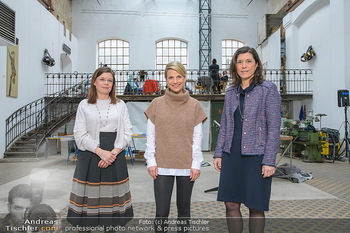 Fotoshooting zu Ladies Night - Kunsthalle Berndorf, NÖ - Di 09.02.2021 - Claudia DESCOVICH, Gerda EHRLICH-RATZINGER, Kristina SPRENGER133