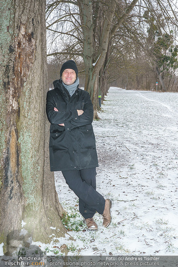 Spaziergang mit Andreas Kiendl - Lusthaus, Wien - Do 11.02.2021 - Andreas KIENDL2