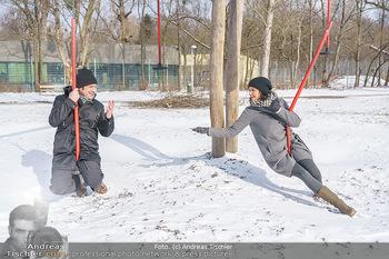Spaziergang mit Andreas Kiendl - Lusthaus, Wien - Do 11.02.2021 - Andreas KIENDL (interviewt von Romina COLERUS)12