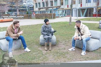Spaziergang mit Pizzera & Jaus - St. Marx, Wien - Mi 17.02.2021 - PIZZERA & JAUS ( Paul PIZZERA und Otto JAUS), Romina COLERUS11