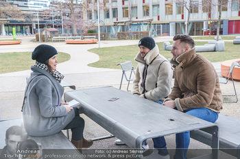Spaziergang mit Pizzera & Jaus - St. Marx, Wien - Mi 17.02.2021 - PIZZERA & JAUS ( Paul PIZZERA und Otto JAUS), Romina COLERUS16