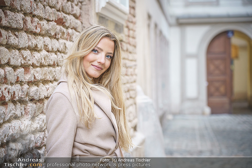 Spaziergang mit Chiara Pisati - 2021-02-23 - Altstadt, Wien