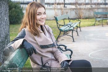 Spaziergang mit Barbara Kaudelka - Volksgarten, Wien - Do 25.02.2021 - Barbara KAUDELKA (Portrait)1