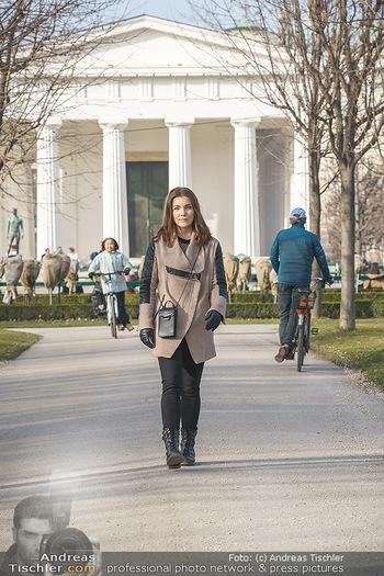 Spaziergang mit Barbara Kaudelka - Volksgarten, Wien - Do 25.02.2021 - Barbara KAUDELKA2