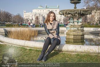 Spaziergang mit Barbara Kaudelka - Volksgarten, Wien - Do 25.02.2021 - Barbara KAUDELKA11