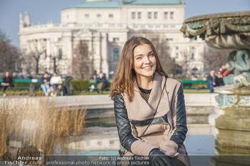 Spaziergang mit Barbara Kaudelka - Volksgarten, Wien - Do 25.02.2021 - Barbara KAUDELKA (Portrait)12