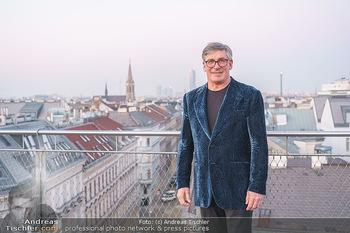 Ana Milva Gomes Privatkonzert - Privatwohnung, Wien - Di 02.03.2021 - Franz KOLLITSCH über den Dächern von Wien auf seiner Terrasse18