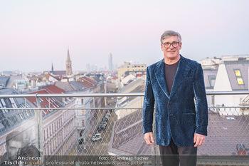 Ana Milva Gomes Privatkonzert - Privatwohnung, Wien - Di 02.03.2021 - Franz KOLLITSCH über den Dächern von Wien auf seiner Terrasse19