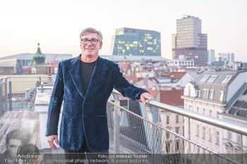 Ana Milva Gomes Privatkonzert - Privatwohnung, Wien - Di 02.03.2021 - Franz KOLLITSCH über den Dächern von Wien auf seiner Terrasse21