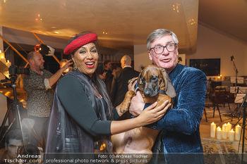 Ana Milva Gomes Privatkonzert - Privatwohnung, Wien - Di 02.03.2021 - Ana Milva GOMES, Franz KOLLITSCH mit Hund Ferdinand30