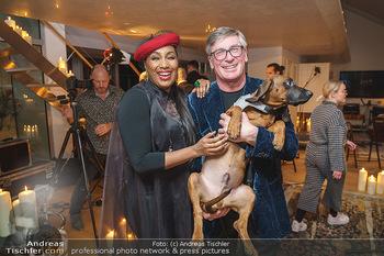 Ana Milva Gomes Privatkonzert - Privatwohnung, Wien - Di 02.03.2021 - Ana Milva GOMES, Franz KOLLITSCH mit Hund Ferdinand31