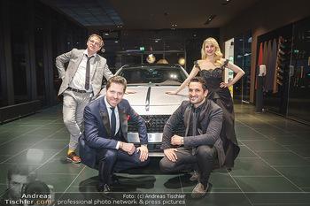 Botschafter für ´die Göttliche´ - PSA Retail, Wien - Do 11.03.2021 - Silvia SCHNEIDER, Daniel SERAFIN, Max STIEGL, Fadi MERZA vor ein17