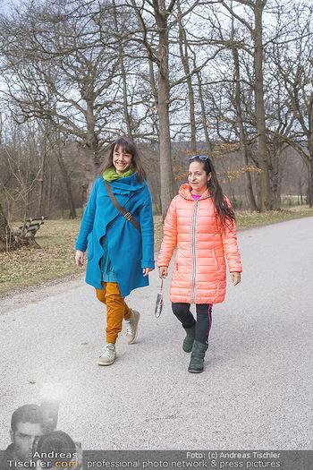 Spaziergang mit den Kernöl Amazonen - Lainzer Tierpark - Do 18.03.2021 - Die KERNÖL AMAZONEN (Caroline Athanasiadis, Gudrun Nikodem-Eich5