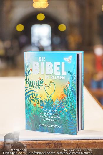 Thomas Brezina Buchpräsentation - Stephansdom, Wien - Do 25.03.2021 - Das Buch Die Bibel in Reimen8