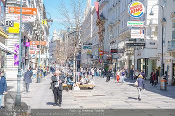 Lokalaugenschein Wien - Wien - Di 30.03.2021 - Menschenmassen kurz vor Ostern Lockdown, Einkaufsstraße, Shoppi35