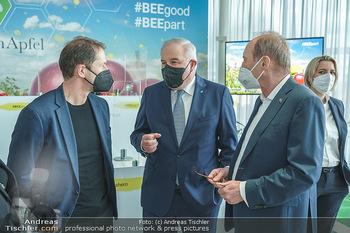 BioBienenApfel PK - MQ Libelle - Mi 07.04.2021 - Franco FODA, Hermann SCHÜTZENHÖFER, Othmar KARAS9