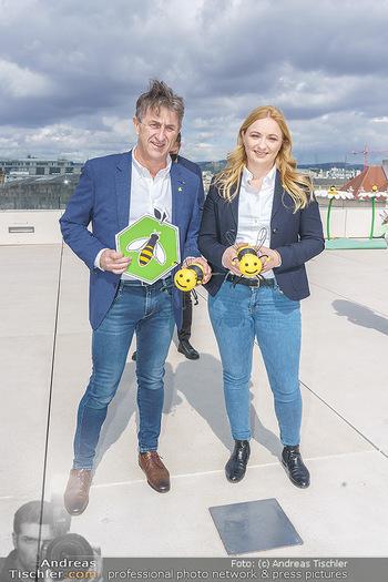BioBienenApfel PK - MQ Libelle - Mi 07.04.2021 - Manfred HOHENSINNER mit Tochter Katrin71
