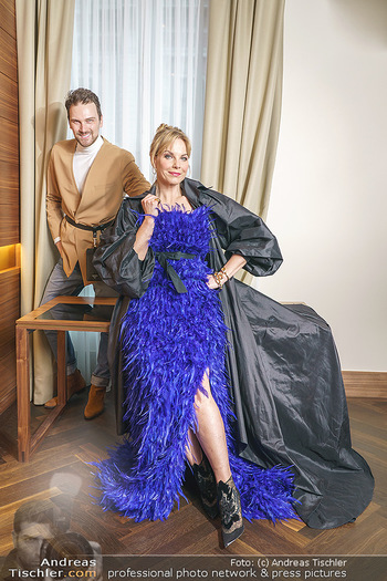 Fotoshooting Elina Garancia - The Ritz Carlton Vienna, Wien - Fr 09.04.2021 - Elina GARANCA, Mode Designer Niko NIKO13
