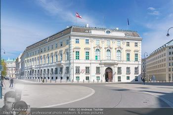 Lokalaugenschein Wien - Wien - Mo 12.04.2021 - Bundeskanzleramt BKA am Ballhausplatz23