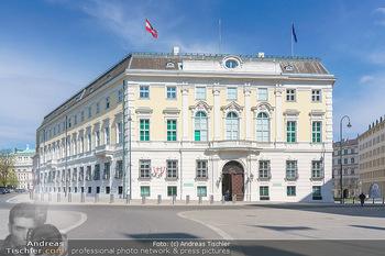 Lokalaugenschein Wien - Wien - Mo 12.04.2021 - Bundeskanzleramt BKA am Ballhausplatz24