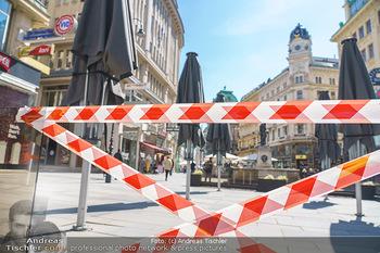 Lokalaugenschein Wien - Wien - Mo 12.04.2021 - geschlossene Gastronomie Restaurants Gastgarten Schanigärten w36