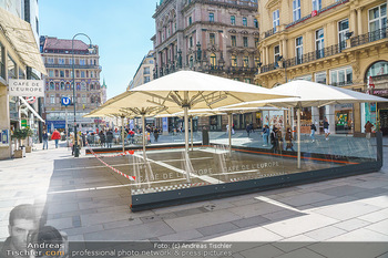 Lokalaugenschein Wien - Wien - Mo 12.04.2021 - geschlossene Gastronomie Restaurants Gastgarten Schanigärten w38