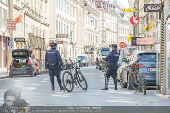 Lokalaugenschein Wien - Wien - Mo 12.04.2021 - Polizei auf Fahrrad, Fahrrädern47