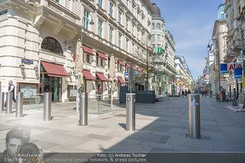 Lokalaugenschein Wien - Wien - Mo 12.04.2021 - Boller Terror Sicherheit Schutz auf Kärntnerstraße52