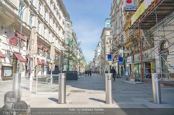 Lokalaugenschein Wien - Wien - Mo 12.04.2021 - Boller Terror Sicherheit Schutz auf Kärntnerstraße53