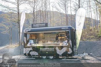 Esterhazy Bergbau PK - Steinbruch Pauliberg, Burgenland - Di 27.04.2021 - Esterhazy Pannatura Markthalle Stand mit Bio Produkten3