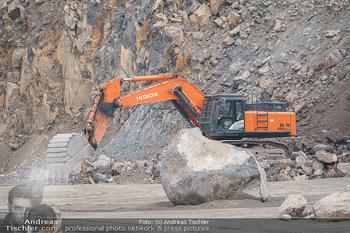 Esterhazy Bergbau PK - Steinbruch Pauliberg, Burgenland - Di 27.04.2021 - Bagger, schwere Maschinen im Steinbruch49