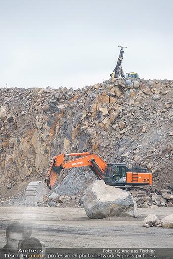 Esterhazy Bergbau PK - Steinbruch Pauliberg, Burgenland - Di 27.04.2021 - Bagger, schwere Maschinen im Steinbruch50