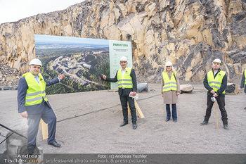 Esterhazy Bergbau PK - Steinbruch Pauliberg, Burgenland - Di 27.04.2021 - Matthias GRÜN, Landesrat Heinrich DORNER, Ingrid PUSCHAUTZ-MEID62