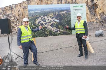 Esterhazy Bergbau PK - Steinbruch Pauliberg, Burgenland - Di 27.04.2021 - Matthias GRÜN, Landesrat Heinrich DORNER63