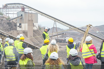 Esterhazy Bergbau PK - Steinbruch Pauliberg, Burgenland - Di 27.04.2021 - Peter FISCHER vor dem Werk80