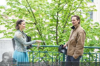 Spaziergang mit Christopher Schärf - Studlhofstiege, Wien - Di 27.04.2021 - Christopher SCHÄRF interviewt von Romina COLERUS3
