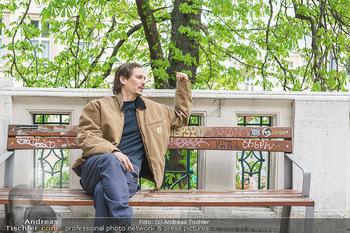 Spaziergang mit Christopher Schärf - Studlhofstiege, Wien - Di 27.04.2021 - Christopher SCHÄRF14