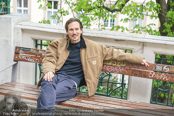 Spaziergang mit Christopher Schärf - Studlhofstiege, Wien - Di 27.04.2021 - Christopher SCHÄRF17