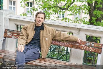 Spaziergang mit Christopher Schärf - Studlhofstiege, Wien - Di 27.04.2021 - Christopher SCHÄRF20