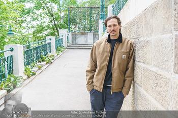 Spaziergang mit Christopher Schärf - Studlhofstiege, Wien - Di 27.04.2021 - Christopher SCHÄRF25