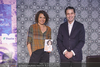 Ulrike Folkerts Buchpräsentation - Thalia Wien - Mi 05.05.2021 - Ulrike FOLKERTS, Nikolaus Niki BRANDSTÄTTER (Verlag)10