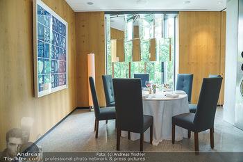 Corona Gastro Re-Opening - Steirereck - Mi 19.05.2021 - gehobene Gastronomie, Sitzbplätze, gedeckter Tisch im Steirerec18