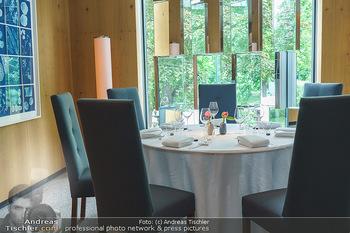 Corona Gastro Re-Opening - Steirereck - Mi 19.05.2021 - gehobene Gastronomie, Sitzbplätze, gedeckter Tisch im Steirerec19