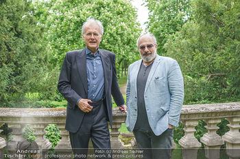 Harald Schmidt und Michael Niavarani - Theater im Park am Belvedere, Wien - Fr 21.05.2021 - Harald SCHMIDT, Michael NIAVARANI1
